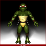 TMNT Raphael WIP by REDWOOD3D