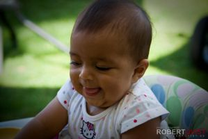 Baby Smile by Robbanmurray