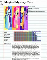 MLP Magical Mystery Cure Review by penguinlover4