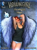 Hawkgirl by Zelgadysgraphic