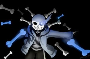 Undertale: Sans by WhiteLilyKnight