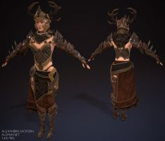 ArenaNet Art Test 2014 Texture Progress 01 by Alemja