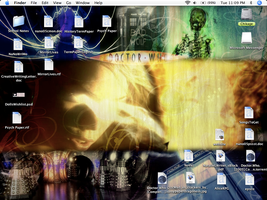 Doctor Who Desktop by AniDragon