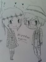Because real hipsters are too mainstream by EmoNShoutN