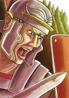Roman Legionary in 2 hrs by Spring-O