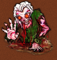 Zombie by Rather-Drawn