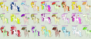 Theme Challenge Adopt Sheet! 1 point each~ (7/27) by MadWhovianWithABox