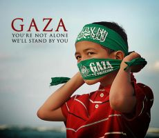 Gaza, you're not alone by cyrusdavirus