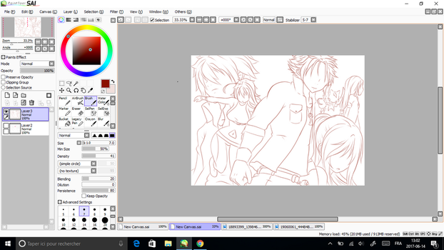 WIP. Team Fairy Tail by JunCassis