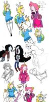 Aaaaaaaaaadventure Time by LittleGreenHat