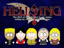 HELLSING IN SOUTH PARK by Zero-Jager