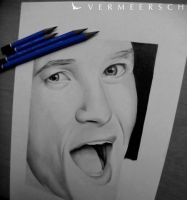 Barney Stinson ~ WIP II by Vermeerschdrawings by Martin--Art