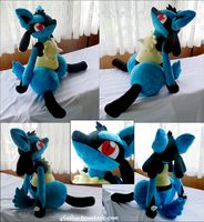 Huge Lucario by xBrittneyJane