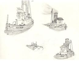 TUGS Doodlies 2 by qwertypictures