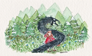 Little Red Riding Hood by Tarmalade