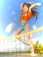 Voley by OSuKaRuArT