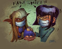 Fake Smile by wagnerf