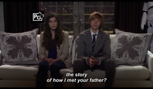 How I Met Your Mother-Kids Barney and Robin by DenyloveThomas