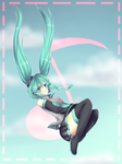 Hatsune Miku by N00b-with-a-tablet