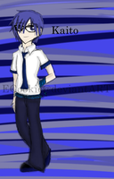 Vocaloid ~ Kaito in School clothes by ECookie