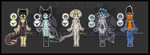 Anthro Adopts- #2 by NuclearZombie18