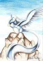 My Articuno pic by Soreiya
