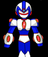 Omni, the All-Seeing Reploid by Isaac-dLite