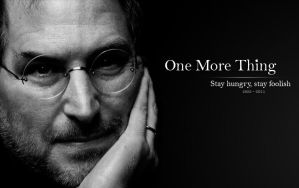 A little tribute to Steve Jobs by UnderSatyr