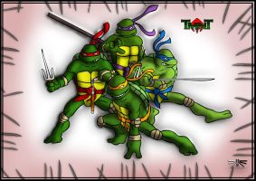 TMNT wallpaper by IRCSS