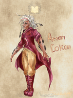 AD : Arron Cokon by MorroRipper