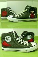 Sneakers Gorjuss Style by anapeig