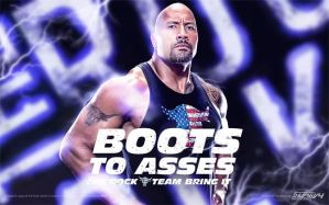 The Rock Boots To Asses Wallpaper by AlphaMoxley95