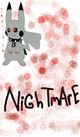 Nightmare The Evil Pikachu by Ask-BlazeTheKiller