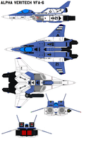 Alpha Veritech VFA-6 by bagera3005