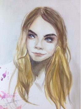 Watercolor Practice~ by audreytriggers