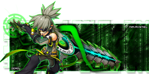Grand Chase : Zero Wanderer Signature GFX by Nirvaxstiel
