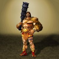 SMITE Hercules by ArmachamCorp