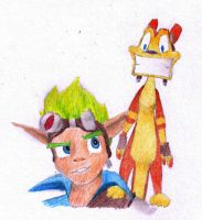 Jak and Daxter by ZoraSteam
