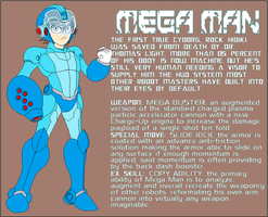 Mega Man by Tyrranux