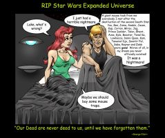 Goodbye Star Wars Expanded Universe Canon by AG88