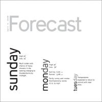 Weather Forecast4 by burningbush