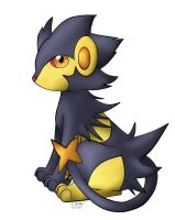 -PKMN- Lucky the Shiny Luxray by pdutogepi