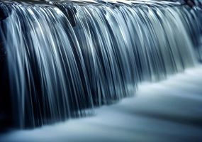 Jagged waterfall by frestro79