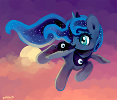 princess of the night by Fyrebeam