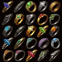 Ring Icons by Saarl