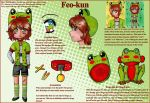 OC Reference - Feo-kun by Elythe