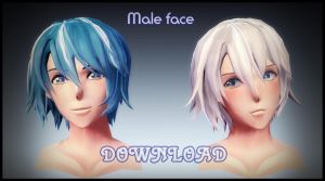 Male face - DOWNLOAD by YamiSweet