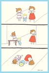 walking with little brother by oscar-ojisan