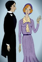 Jeeves and female Wooster by Rem-Gottingen