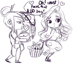 lustis and m26 go shopping WIP by temporaryWizard